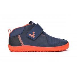 Vivobarefoot PRIMUS BOOTIE K Navy/Orange