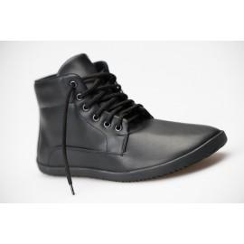 Ahinsa Shoes Sundara - Černá Kotníčková BARE TREK