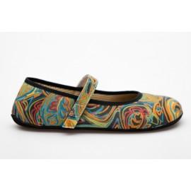 Ahinsa Shoes Ananda - Duhová balerínka