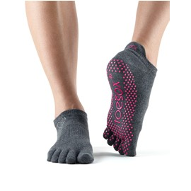 ToeSox Fulltoe Lowrise Grip (Enchanted)