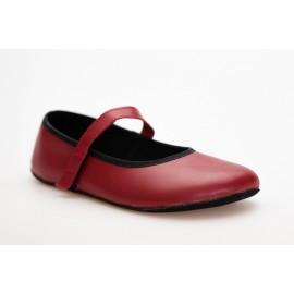 Ahinsa Shoes Ananda - Balerínka červená