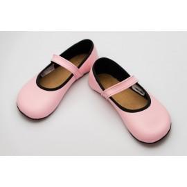 Ahinsa Shoes Ananda - Balerínka růžová