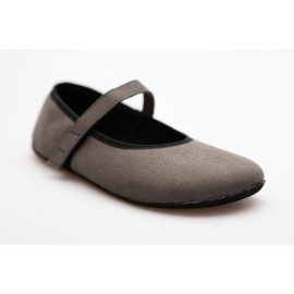 Ahinsa Shoes Ananda - Balerínka šedá