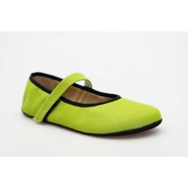 Ahinsa Shoes Ananda - Balerínka zelená Sunbrella