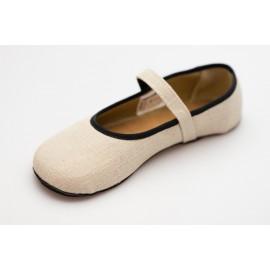 Ahinsa Shoes Ananda - Balerínka lněná