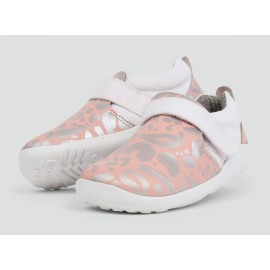 BOBUX AKTIV Abstract Shoe Pink + Silver