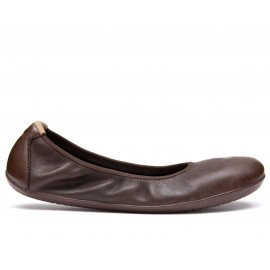Vivobarefoot JING JING 2 L LEATHER BROWN