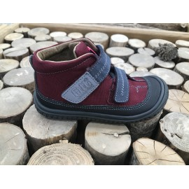 Filii Barefoot VEGAN MAMBA TEX Berry/Graphit M