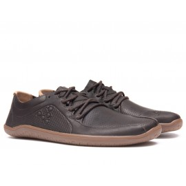 Vivobarefoot Primus Lux Lined L Leather DK Brown