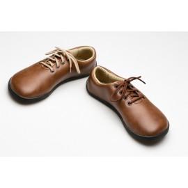 Ahinsa Shoes Ananda Bare Světle Hnědá