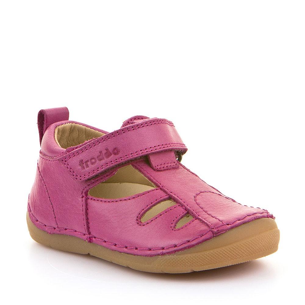 4a560008cf8c Froddo dětské sandálky FUCHSIA 2 - BarefootMánie.cz