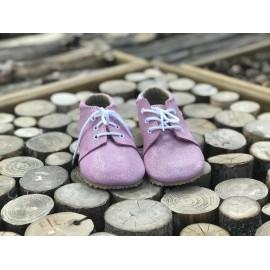 Beda Barefoot capáčky vyšší JANETTE - růžová třpytivá