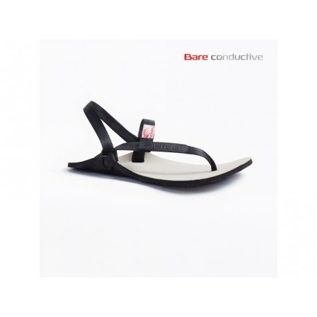 Bosky shoes BARE BLACK sandále