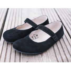 Barefoot Lenka Lady baleríny - Black Matt