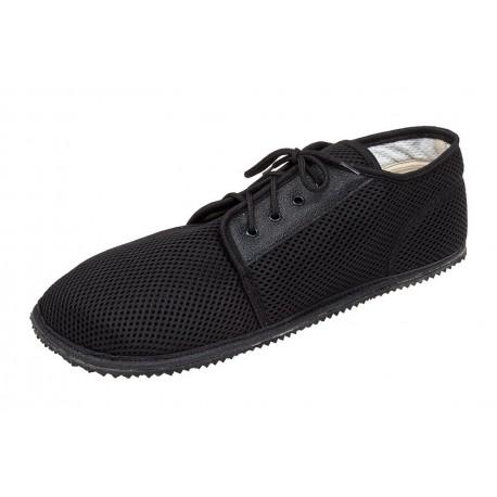 Beda Barefoot nízké prodyšné černé - Standard