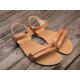 Lenka Barefoot Sandály Summer - Hnědé