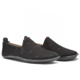 Vivobarefoot ABABA L Canvas Swipe Black