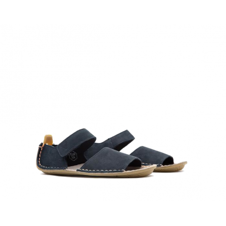 Vivobarefoot ABABA K Sandal Navy Leather