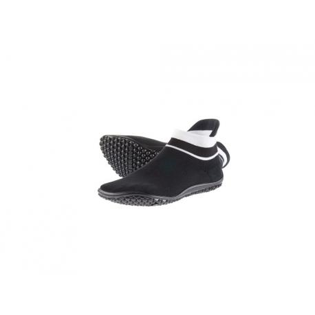 Leguano Sneaker černá, bílý pruh