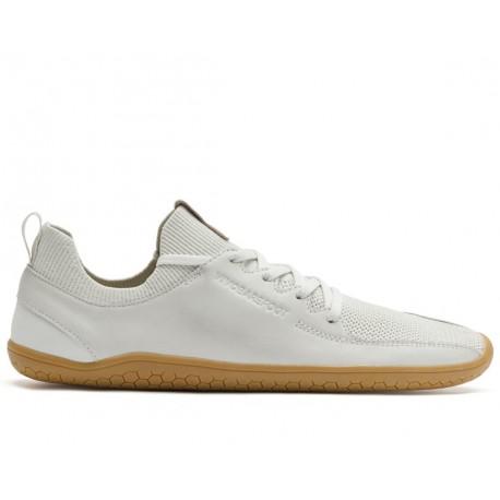 Vivobarefoot PRIMUS KNIT M Vap Grey Off White Leather