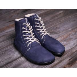 Be Lenka barefoot kotníkové Winter - Marine