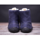 BeLenka barefoot kotníkové Winter - Marine