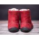 BeLenka barefoot kotníkové Winter - Wine
