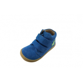 Filii Barefoot Chameleon Velours Electric Blue Velcro M
