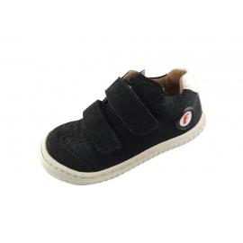 Filii barefoot Leguan Vegan Velcro Textile Black M