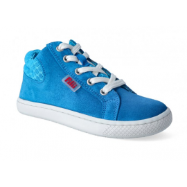 Filii Barefoot SKATER laces velours electric blue