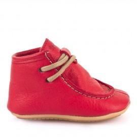 Froddo prewalkers zimní kotníkové tkanička RED
