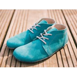 Lenka celoroční barefoot - Tyrkys