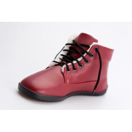 Ahinsa Shoes Sundara - zimní kotníčková černá LIFO+