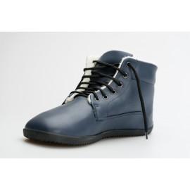 Ahinsa Shoes Sundara - Winter ANKLE modrá